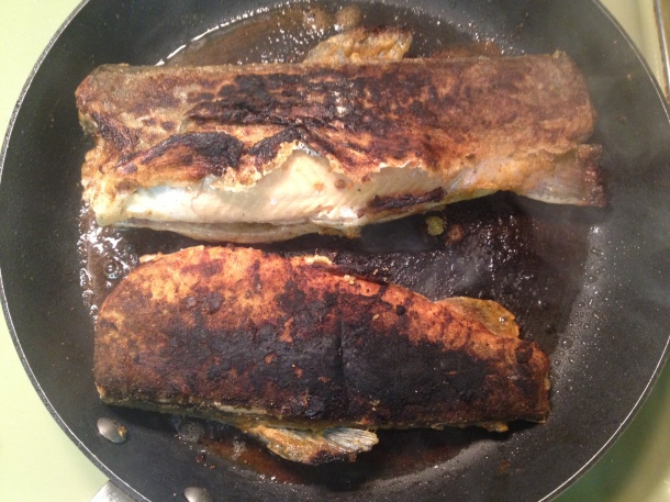browned fillets