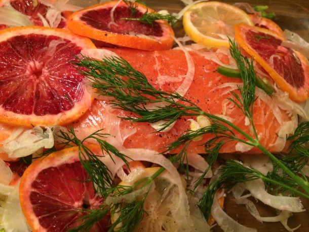 salmon with citrus
