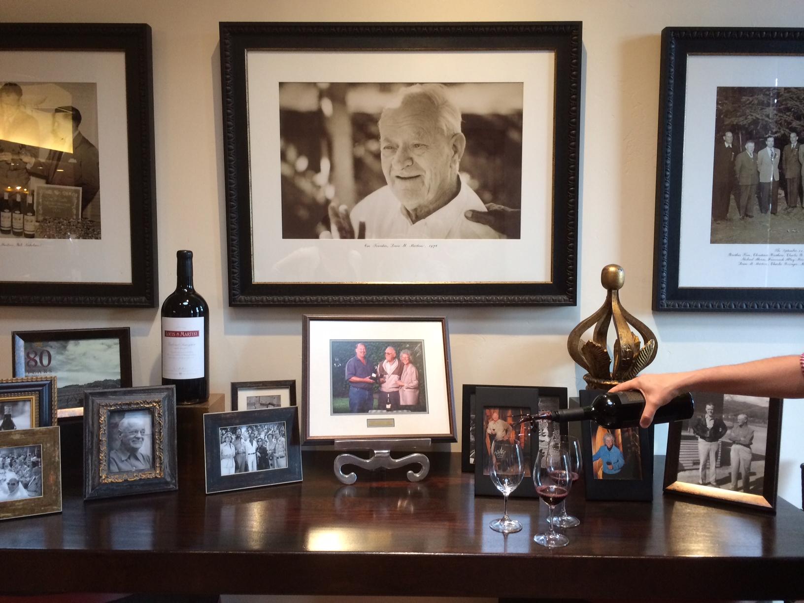 Louis Martini Winery Tour