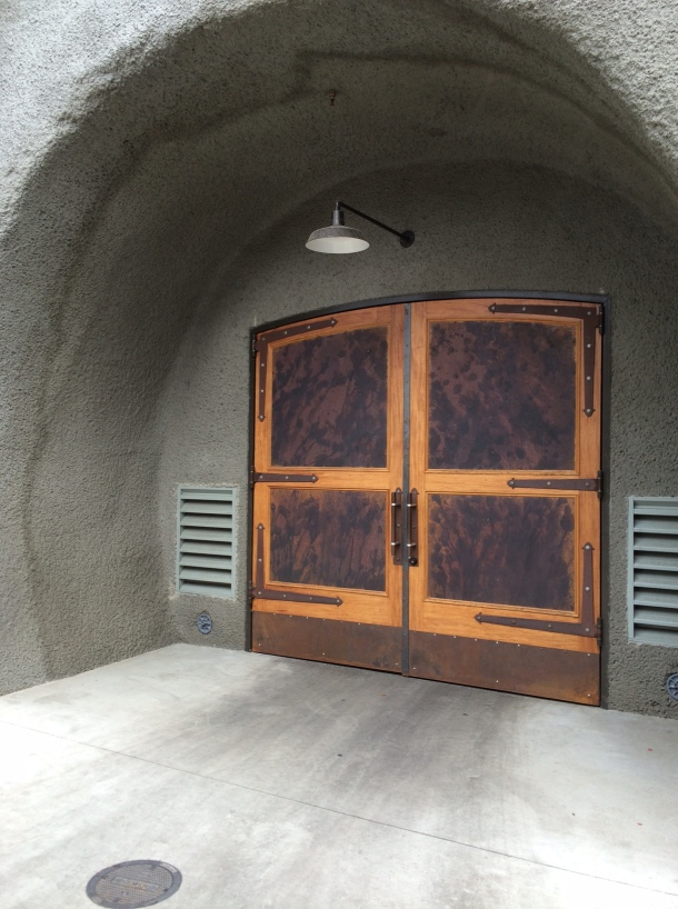 Entrance to the wine caves