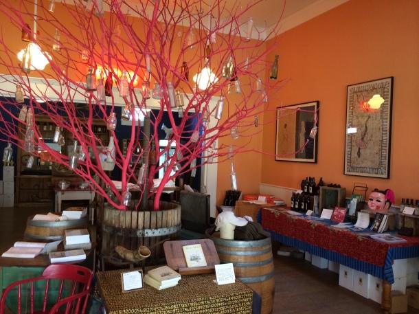 The Preston tasting room