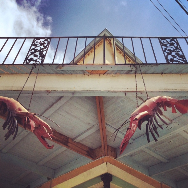 The spirit of crawfish is strong in New Orleans.
