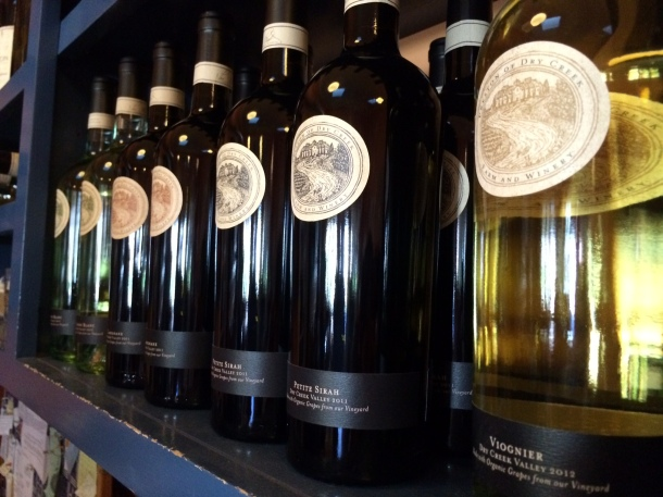 A selection of Preston wines
