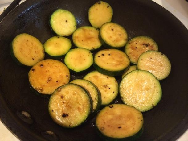 balsamic zucchini