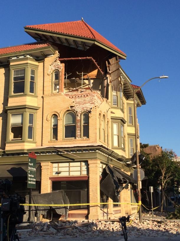 Damage at Carpe Diem, a downtown restaurant
