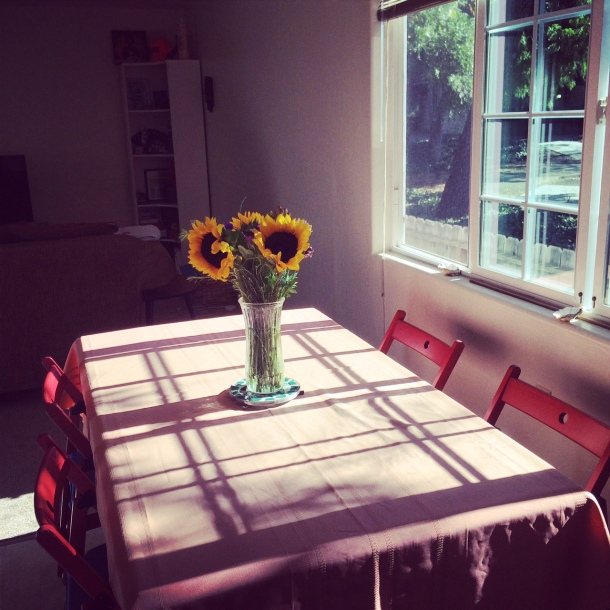 Setting up for my first dinner party!
